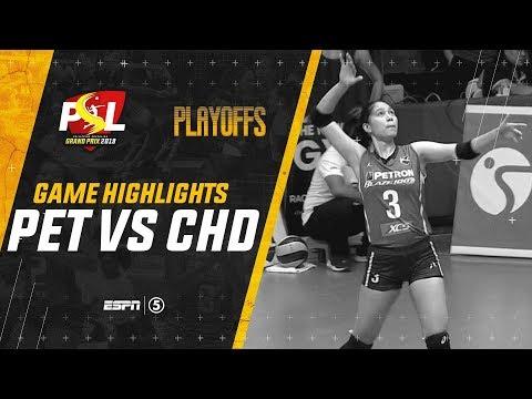 Semifinals - Highlights: Petron vs. Cignal HD   PSL Grand Prix 2019 thumbnail