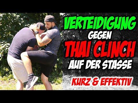 KURZ & EFFEKTIV Verteidigung vom Thai Clinch auf der Straße