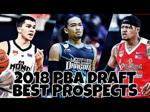 2018 PBA DRAFT BEST PROSPECTS / TOP PLAYERS IN THE PHILIPPINES PT  1