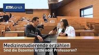 Medizinstudierende erzählen - Sind die Dozenten Ärzte oder Professoren?