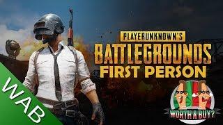 Playerunknowns Battlegrounds Review - Worthabuy?