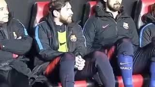 Sorprendente gesto de Valverde a Messi 😱😱