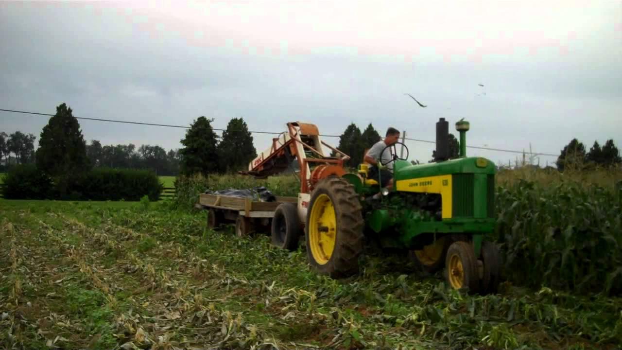 Fmc Sweet Corn Picker Wmv Youtube