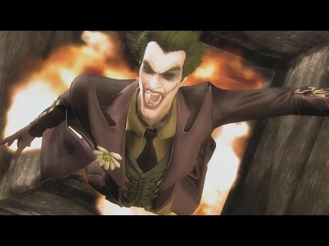 Injustice: Gods Among Us - All Stage/Level Transitions On The Joker (1080p 60FPS)