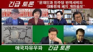 """[제21차 화상대화국민궐기대회] """"긴급 토론 - 문재인…"""