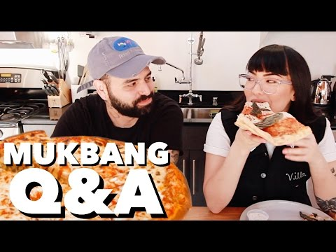 Mukbang Q&A feat. Segundo! | soothingsista
