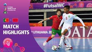 Portugal v Morocco FIFA Futsal World Cup 2021 Match Highlights