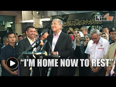 Dr Mahathir: I gave at least 6 speeches a day