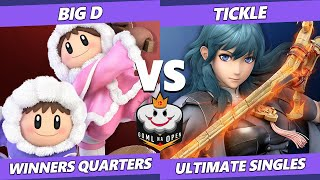 GOML NA Open CA West Winners Quarters - Big D (Ice Climbers) Vs. Tickle (Byleth) Ultimate SSBU