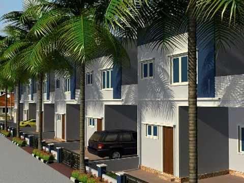Villas 3D Fly Through / 3D Walk-through Real Estate Venture Hyderabad Wild Advertising