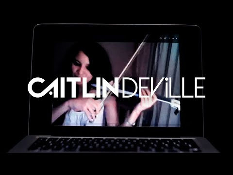 Here Without You (3 Doors Down) - Electric Violin Cover   Caitlin De Ville