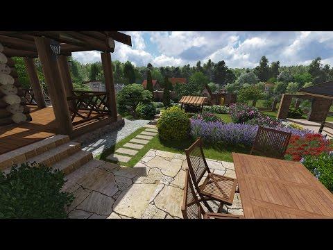 ландшафтний дизайн двору