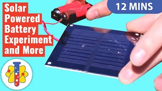 Lab 360 | Do It Yourself Solar Power | DIY Solar Panel Installation | Experiments You Can Do At Home