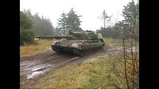 Manöver Dänische Armee Truppenübungsplatz Oksbol November 2002 Leopard 1 DK M113 G3 Army Teil 8