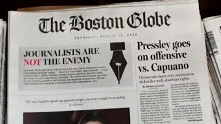 """""""Journalists are not the enemy"""": Hundreds of news outlets speak out"""