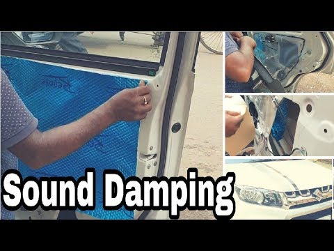 How to reduce noise inside your Car | Sound Damping | Maruti Brezza