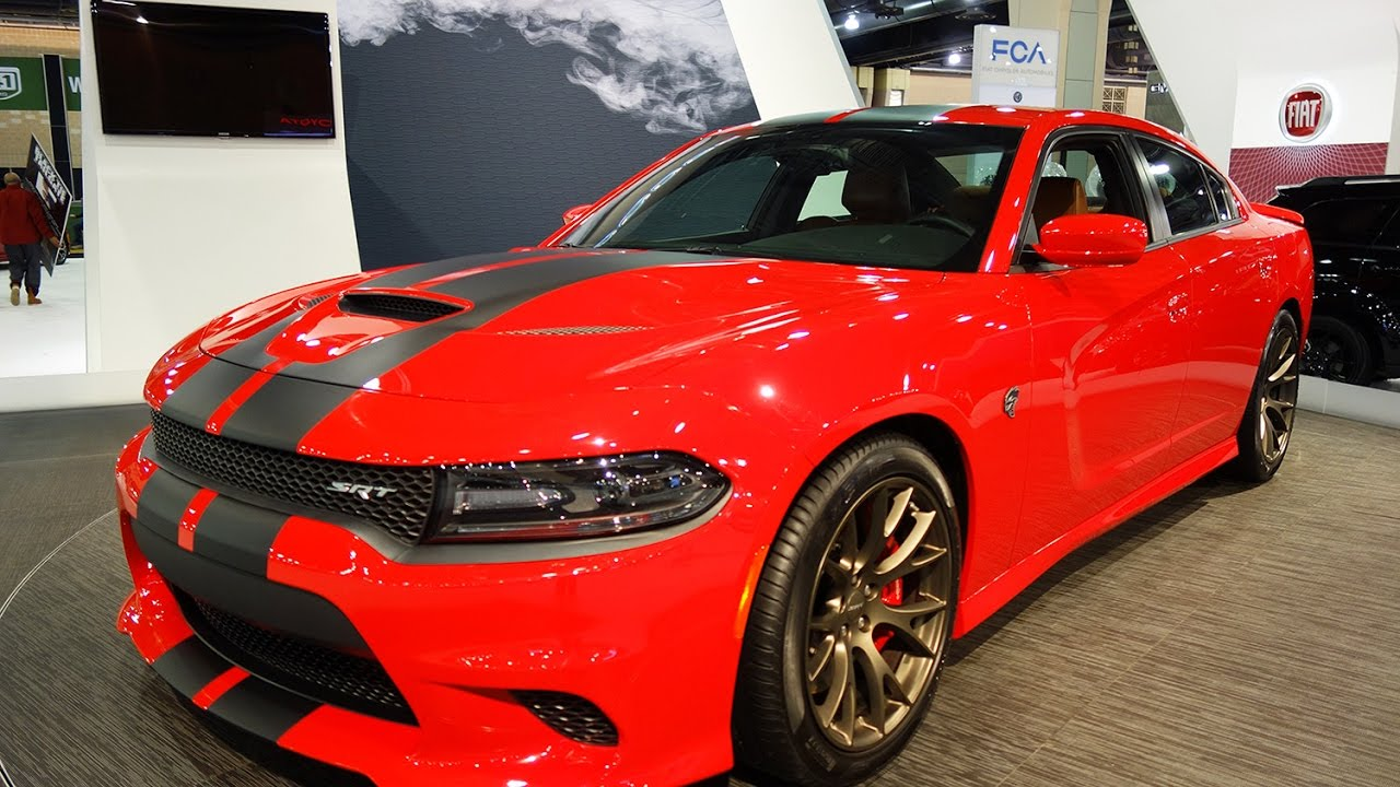 2017 Dodge Charger Srt Hellcat V8 707hp Car Review