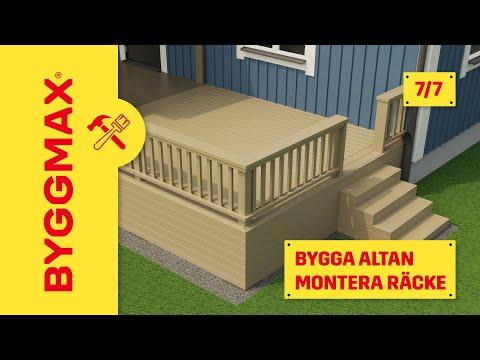 byggmax altan