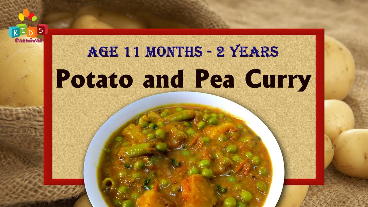 Potato and pea curry for 11 months 2 years old babies food potato and pea curry for 11 months 2 years old babies food recipe for kids forumfinder Image collections
