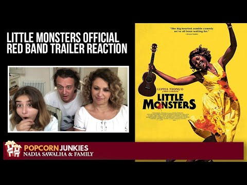 little-monsters-(official-red-band-trailer)-nadia-sawalha-&-the-popcorn-junkies-reaction