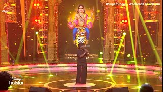 Gana Sudhakar - Iyappan Song in super singer   Vera Level