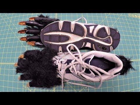 Making Werewolf Feet for Around $10 Tutorial thumbnail