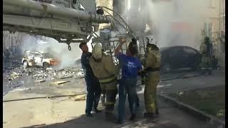 В Ростове пожар Отель
