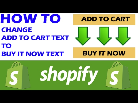2017 HOW TO Change Add to Cart Button To Buy It Now FREE || NO CODING NEEDED [HD]