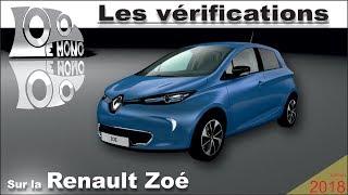 Renault Zoé: vérifications et sécurité routière