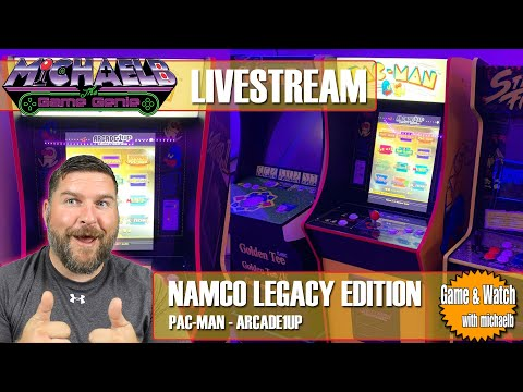 Arcade1Up Namco Legacy Edition Livestream | MichaelBtheGameGenie from MichaelBtheGameGenie