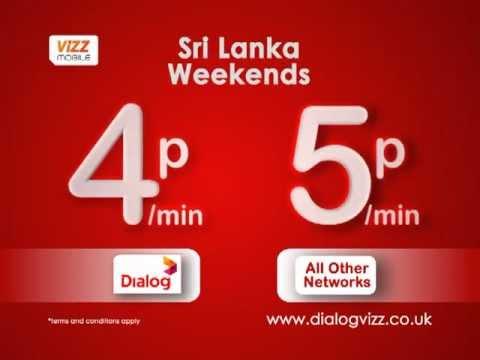 Dialog Vizz Airtime Credit Transfer