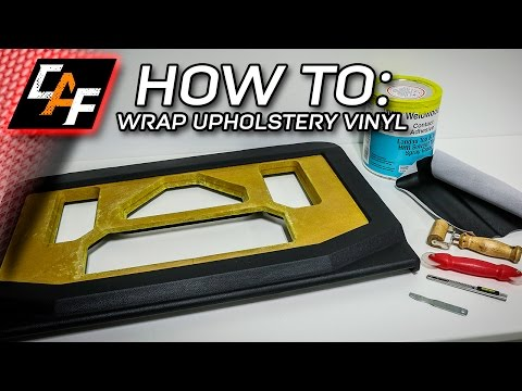 MISTAKES TO LEARN FROM - Upholstery Vinyl Amp Rack Beauty Panel