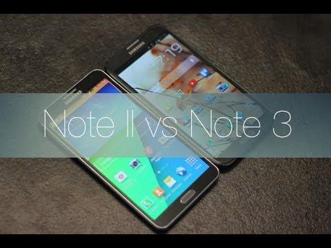 Samsung Galaxy Note II vs Galaxy Note 3 en español