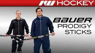 Bauer Prodigy Youth Stick Line // On-Ice Insight