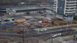 Budowa węzła przesiadkowego przy dworcu głównym w Olsztynie