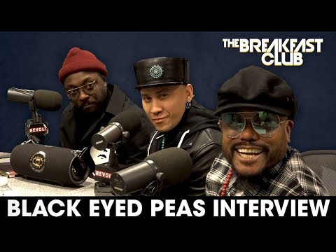 "Black Eyed Peas On Saying ""F"" The System, New Music + More"
