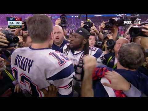 Tom Brady & Bill Belichick Embrace After Super Bowl LI Victory | NFL