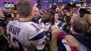 Tom Brady & Bill Belichick Embrace After Super Bowl LI Victory | NFL