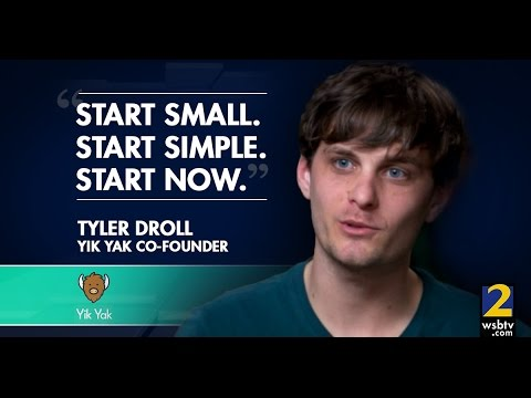 Yik Yak founders give advice on starting a business