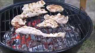 Grilled Marinated Turkey Meat And Vegetables - Kilátó Clubhouse, Soteria Foundation