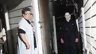 Michael Myers PRANK ON ANGRY GRANDMA!