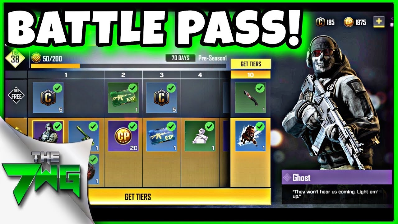 CALL OF DUTY MOBILE PREMIUM BATTLE PASS REWARDS! | CoD Mobile - YouTube