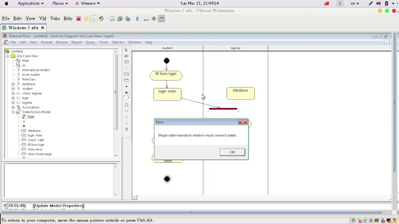 2 create activity diagram using rational rose youtube 2 create activity diagram using rational rose ccuart Image collections