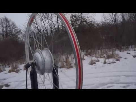 Б/у мотор-колесо для велосипеда, 26, 36-48 вольт