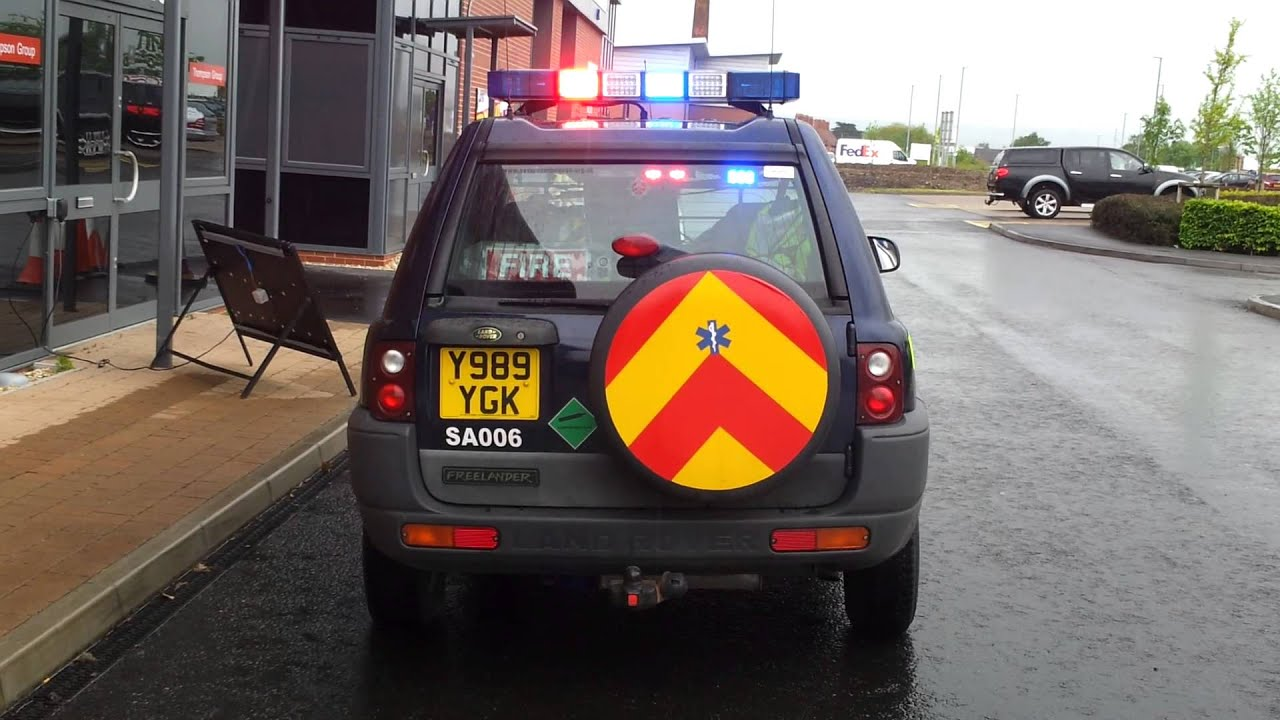 Whelen Blue Freedom Led Light Bar Fitted To Ambulance Rrv