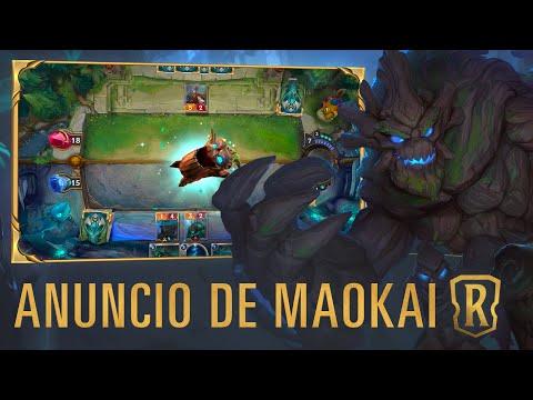 Anuncio de Maokai | Nuevo campeón - Legends of Runeterra