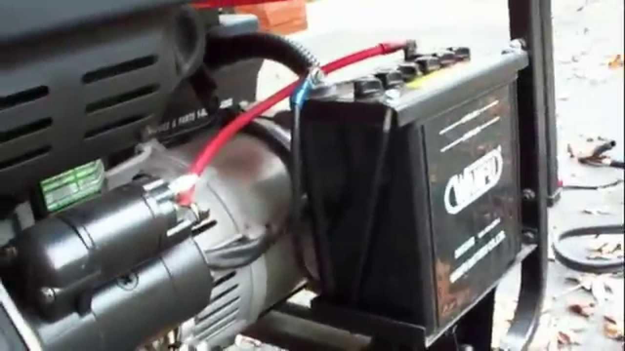 6kw Etq Diesel Generator Startup