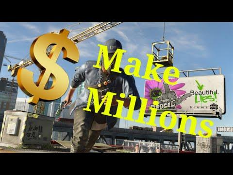 Watch Dogs 2 How Earn Money Fast 2017 Methods