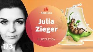 Julia Zieger / Grafikdesign - Adobe Live 1/3