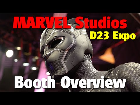 Marvel Studios Booth Overview | D23 Expo 2017